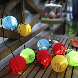 RICE BALL - Guirlande d'extérieur LED 10 lampions Multicolore 14,5m BEST SEASON