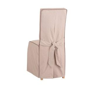 Housse de chaise beige la redoute - Housse de chaise la redoute ...