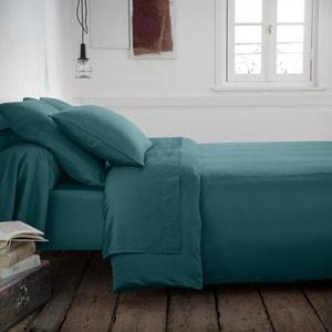Varèse Washed Cotton Satin Duvet Cover La Redoute Interieurs