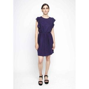 Plain Short-Sleeved Mini Dress COMPANIA FANTASTICA