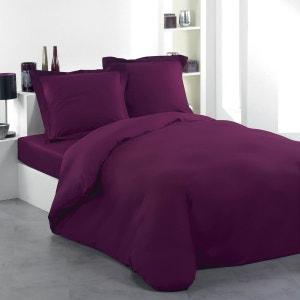 housse de couette violet violine la redoute. Black Bedroom Furniture Sets. Home Design Ideas