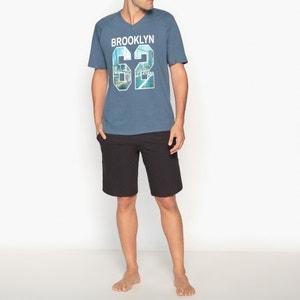 Pijama curto, jersey 100% algodão ATHENA