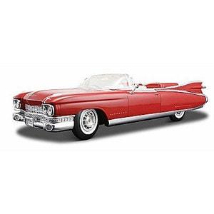 Modèle réduit - Cadillac Eldorado (1959) - Echelle 1/18 : Rouge MAISTO