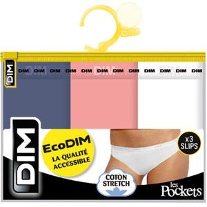 Slips Pockets Eco (confezione da 3) DIM