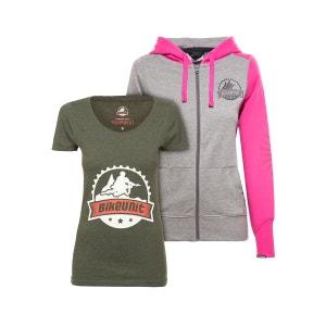 Crew - Sweat-shirt - kit gris/olive BIKEUNIT