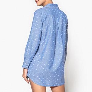 Nachthemd Classic Mood, Baumwolle, Federmotive DODO