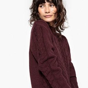 Sweter tunika, wełna La Redoute Collections