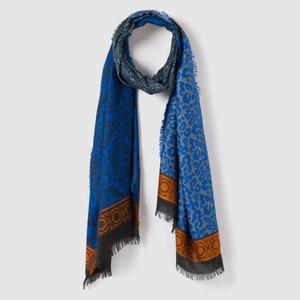 Sjaal met jacquard print atelier R