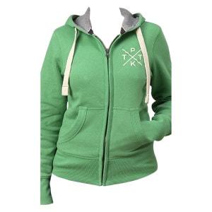 Sweat femme en molleton vert ORIGINAL II TPTK