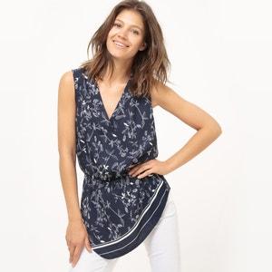 Blusa, estampado floral atelier R