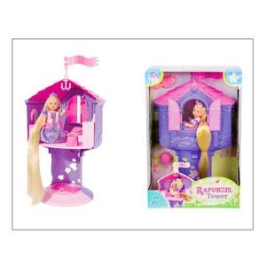 Simba Toys 105731268 EVI LOVE dans la tour de la Princesse Raiponce SIMBA TOYS