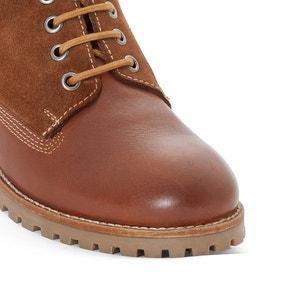 Boots cuir COMBAT COMBI PEPE JEANS