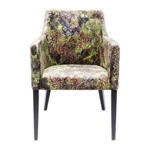 Chaise avec accoudoirs Mode jungle vert Kare Design KARE DESIGN