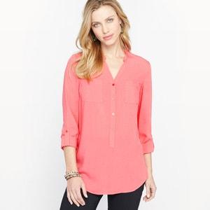 Blusa túnica con cuello redondo ANNE WEYBURN