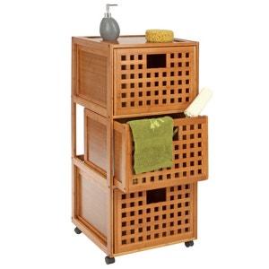 Armoires et colonnes de salle de bain la redoute - La redoute petit meuble de rangement ...