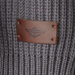 Sweter na suwak z wysokim kołnierzem DOCKERS