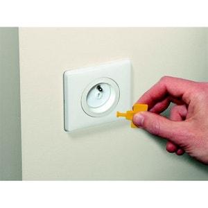 Cache prise avec clef Safety 1st - x12 NUNA