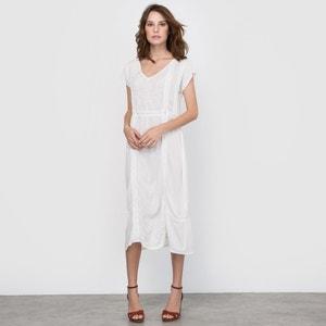 Kleid mit Stickerei und Spitze R édition