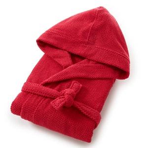 Albornoz con capucha mujer 100% algodón 350g/m² con motivo La Redoute Interieurs