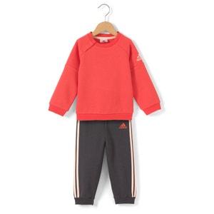 Trainingsanzug für Babys, Jungen, 3 Monate - 4 Jahre ADIDAS