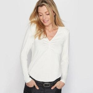 T-shirt, maille souple ANNE WEYBURN