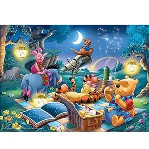 Puzzle 1000 pièces - Winnie l'Ourson : Observation des étoiles RAVENSBURGER