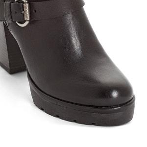 Boots cuir Fatto MJUS