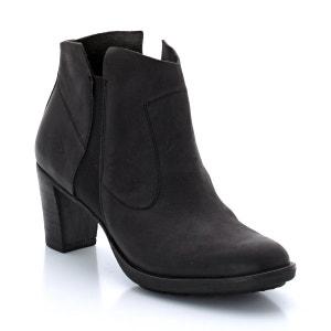 Boots à talons en cuir P-L-D-M-BY PALLADIUM