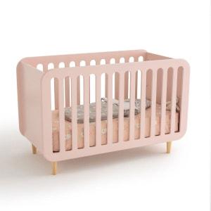 lit bebe rose la redoute. Black Bedroom Furniture Sets. Home Design Ideas