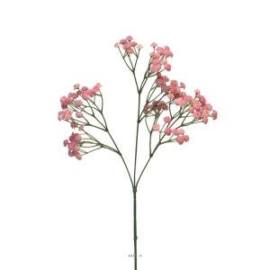Gypsophile artificiel Rose en branche 117 fleurs H 66 cm au Top ARTIFICIELLES