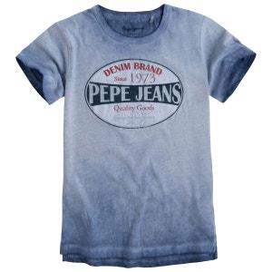 Tee-shirt effet usé 8-16 ans PEPE JEANS