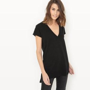 Jersey de manga corta, algodón/seda R essentiel