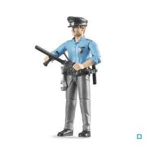 Policier Blanc avec Accessoires - BRU60050 BRUDER
