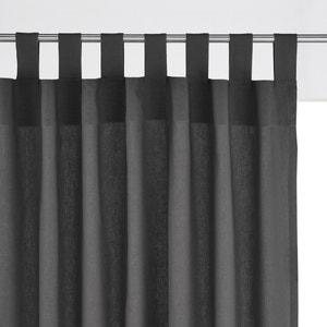 Cotton Tab Top Single Curtain SCENARIO