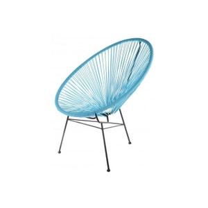 Fauteuil La Chaise Longue Turquoise ACAPULCO LA CHAISE LONGUE