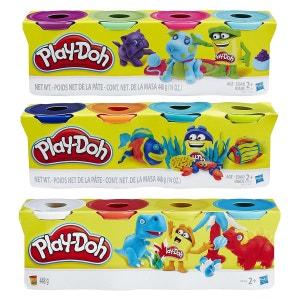Play-Doh - Assortiment 4 Pots de Couleurs - HASA9211ES00 - HASB5517EU40 PLAY DOH