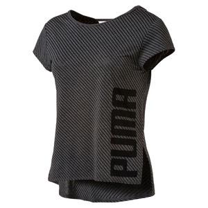Tee-shirt sport manches courtes rayé PUMA