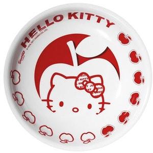 Petite assiette creuse en mélamine Hello Kitty TROPICO