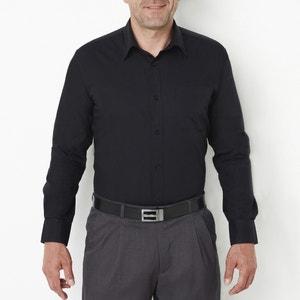Langärmeliges Popeline-Hemd, Staturgrösse 1 CASTALUNA FOR MEN