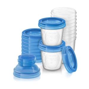 Pots lot de 10 de conservation du lait maternel PHILIPS AVENT
