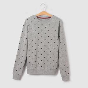 Sweater met stippenprint 10-16 jr La Redoute Collections