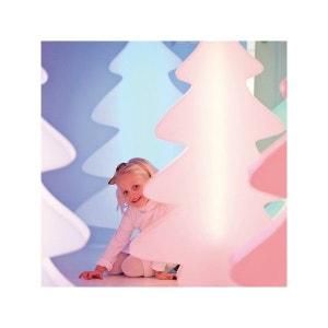 Arbre lumineux 82 cm LED multicolore intérieur et extérieur FLEUR D'AMI