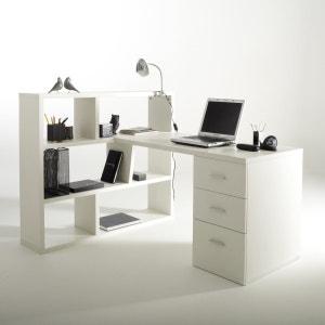 Omkeerbaar bureau met bibliotheek, 2 kleuren, Fénon La Redoute Interieurs