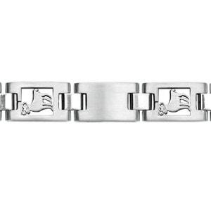 Bracelet homme acier 20 cm