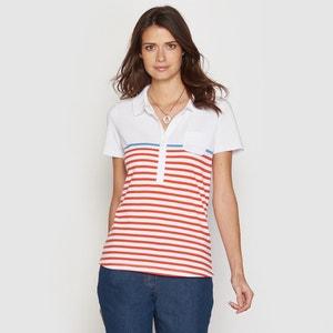 Striped Polo Shirt ANNE WEYBURN
