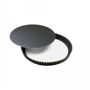 Moule à gateaux Gobel rond cannelé diamètre 28 cm fond mobile GOBEL
