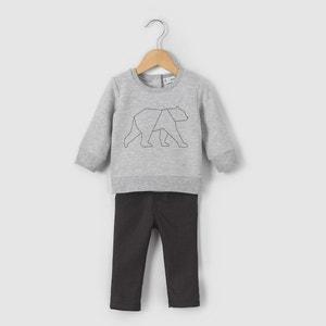 Completo felpa e pantaloni 1 mese-3 anni R mini