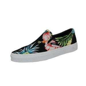 Vans CLASSIC SLIP HAWAII Chaussures Mode Sneakers Femme Noir VANS