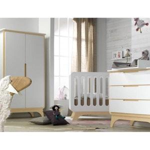 Chambre bébé essentielle blanc/bouleau ALFRED ET COMPAGNIE