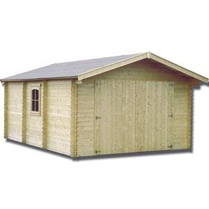 Garage Bois 44 Mm   21,23 M² DECOR ET JARDIN